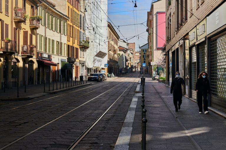 עירוניות איטליה בימי קורונה