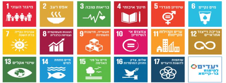 """SDG Israel דו""""ח אימפקט"""